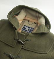 Burberry Duffle Coat Nova Check Wool Overcoat Womens Size UK 14 | US 12 | L XL