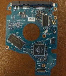 "Toshiba MK1246GSX (HDD2D91 C ZK01 S) 010 A0/LB211A 120gb 2.5"" Sata PCB"