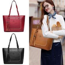 Faux Leather Fashion Women Handbags Tote Shoulder Bag Messenger Crossbody Purse