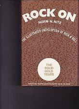 Rock On-Encyclopedia Of Rock N Roll Music Book