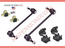 6PC Sway Bar Links+Bushings 2011-2017 Ford Explorer K750616 K750617 MADE IN USA