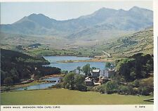 Old Postcard - North Wales; Snowdon from Capel Curig (Judges) - Unposted 0197