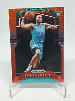 2019-20 Panini Prizm PJ Washington Jr. Fast Break Red RC Rookie /125