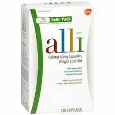 alli Weight Loss Aid Refill Pack Capsules - 120 CP (3 Packs)