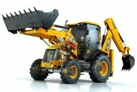 A3 JCB 3CX Backhoe loader Digger Tractor Cut-A-way Wall Poster Brochure