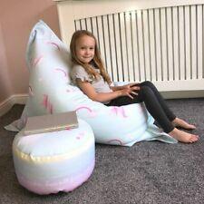 Kids Unicorn Squashy Squarbie™ Beanbag - Ready Filled, Washable, Personalise