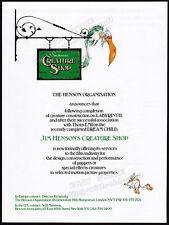 JIM HENSON'S CREATURE SHOP__Original 1985 Trade AD promo / poster__LABYRINTH