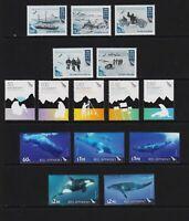 New Zealand - Ross Dependency - 3 recent sets, MNH, cat. $ 38.15