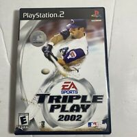 Triple Play 2002 PS2 Disc Only Sony Playstation 2 Ps2 Video Game Good Baseball