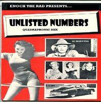 Unlisted Numbers - Quadraphonic Reel yo Reel tape Q4