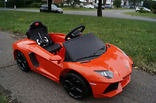 ELECTRIC RIDE ON CAR LAMBO EDITION REMOTE CONTROLLED WITH REVERSE - FREE SHIP