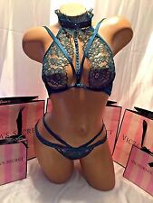 Victoria's Secret Designer Collection Bra Set Emerald 34B Small