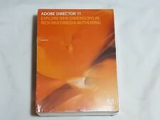 NEW Adobe Director 11 MAC Computer Software SEALED 2007 Macintosh Program (READ)