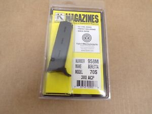 Beretta 380 ACP Model 70S  Magazine by Triple K #958M Made in the USA!