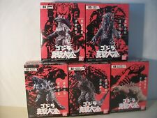 Uk Seller Godzilla set of 5 Kaiyu action figures  Japan anime import NEW Gamera