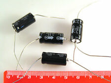 Siempre Axial Condensador Electrolítico 35v 220uF -40'+85'C 4 piezas OL0066