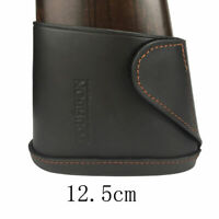 Tourbon Leather Slip-on Recoil Pad Buttstock Holder Cover Shoulder Protection