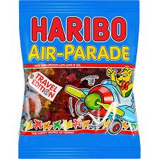 Haribo AIR PARADE planes gummy bears- 500g-FREE Shipping