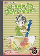 Absolute Boyfriend, Vol. 5 by Yuu Watase (2008, Paperback)