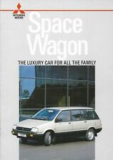 Mitsubishi Space Wagon 1987 brochure