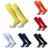 USA Mens Sports Over Knee High Socks Football Soccer Baseball Plain Long Socks