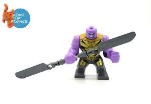 Genuine Lego Marvel Superheroes Thanos Big Minifigure (sh733) End Game 76192