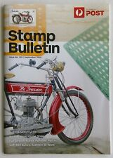Australia Post Stamp Bulletin Issue No. 355 September 2018 Vintage Motorcycles