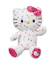 NWT Build A Bear 40th Anniversary Confetti Hello Kitty Retired UNSTUFFED Plush