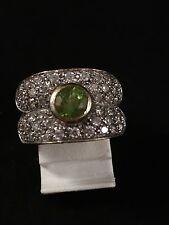 Damenring 925 Silber Edelstein Turmalin Smaragd Rubin Zirkonia Opal Citrin & Co