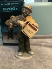 """Emmett Kelly Jr Signature Collection """"No Strings Attached"""" Figurine"""
