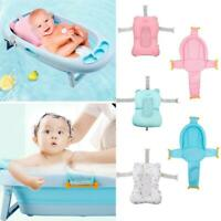 Baby Shower Bath Tub Pillow Pad Non Slip Bathtub Mat Newborn Safety Bath Cushion