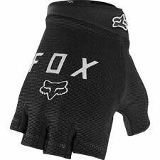 Fox Ranger half Finger Fingerless Gloves Gel Black