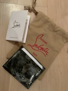 Christian Louboutin Card Holder/Credit Cards/Unisex Men's/Women's Quick Dispatch