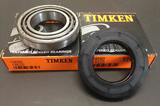 Timken trailer bearing set 2 x 18590/18520 + seal 43 x 75 x 10