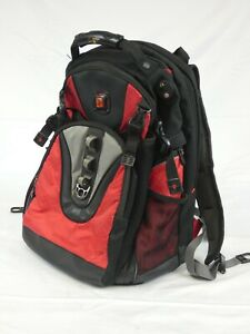 Swiss Gear black and red computer laptop rucksack backpack by Wenger bag
