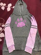 New listing Dog Paw Print hoodie women small
