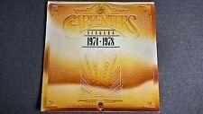 CARPENTERS - THE SINGLES 1974-1978 .     LP.