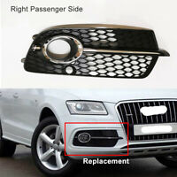 Fit For Audi Q5 S-Line 2013-2017 Front Bumper Right Side Fog Light Cover Grille