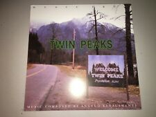 Twin Peaks David Lynch Limited Edition Promo LP Flat LITHOGRAPH POSTER Angelo