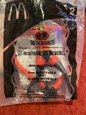 Disney Pixar The Incredibles Mcdonalds 2004 toy NIB Mrs Incredible