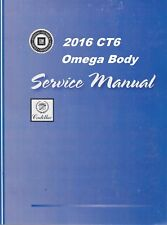 2016 Cadillac Ct6 Sedans Service Repair WorkShop Manual-4 Vol Set Gmp16Ct6(Fits: Cadillac)