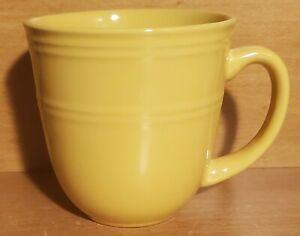 "Mainstays GOLDEN POND Mug, 14 oz / 4"", Yellow, Stoneware, Very good"