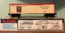 Lionel Trains Ben Franklin Reefer 6-19513