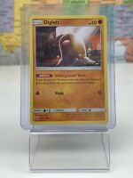 SHIPS SAME DAY Pokemon Card NM Diglett 85/214 Basic Fighting Type 2019 Common