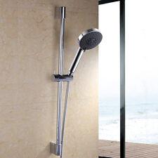 Stainless Steel & ABS Shower Sliding Bar Shower Holder & 5 Function Shower Head