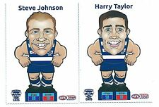 2015 Teamcoach Footy Pop-Ups Trumps Geelong - Steve JOHNSON & Harry TAYLOR