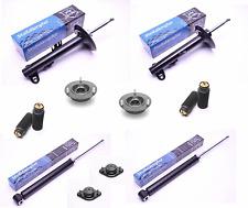 4 Gasdruck Stoßdämpfer VA/HA links/rechts + Domlager + Staubschutz 3er BMW