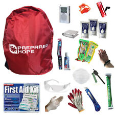 Prepared Hope ESSENTIALS Emergency Survival Kit for House Fires, Earthquakes, Hu