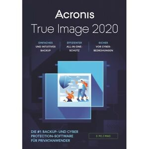 Acronis True Image 2020, 3 Geräte, Dauerlizenz, Download