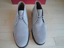 Chaps Whitton Men's Gray Suede Shoes/Boots with Laces Size: 9 Med $110.00